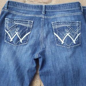Wrangler Women's Shiloh Bootcut Ultimate blue jean